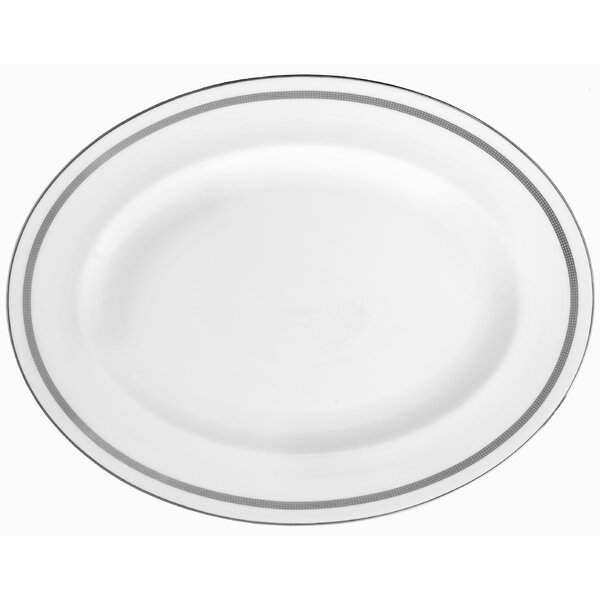 Infinity Oval Platter by Vera Wang