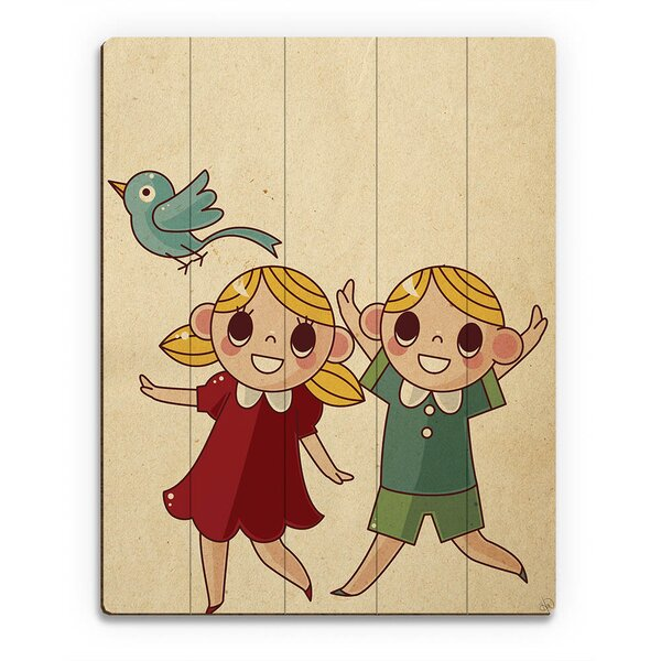 Hansel and Gretel Graphic Art on Canvas by Click Wall Art