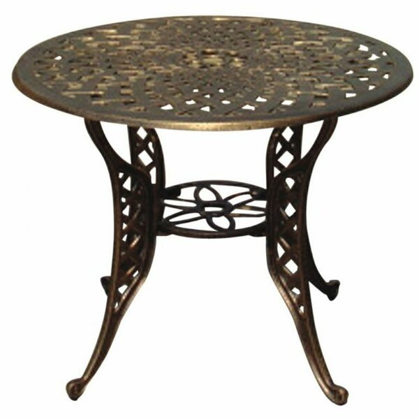 Mesh Round Dining Table by DC America
