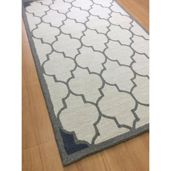 Wool Hand-Tufted Off-White Area Rug by Eastern Weavers