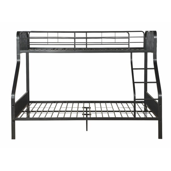 Tasha Twin XL Over Queen Slat Bunk Bed by Zoomie Kids