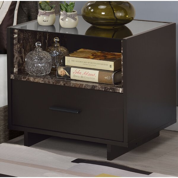 1 Drawer Nightstand by Latitude Run