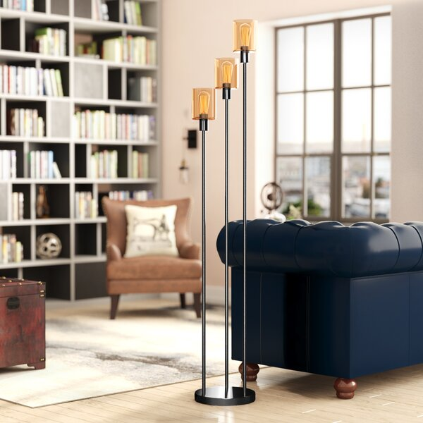 Great Smoky 73 Torchiere Floor Lamp by Trent Austin Design