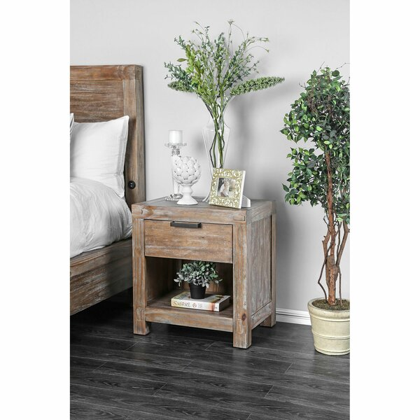 Benally 1 Drawer Nightstand by Foundry Select Foundry Select