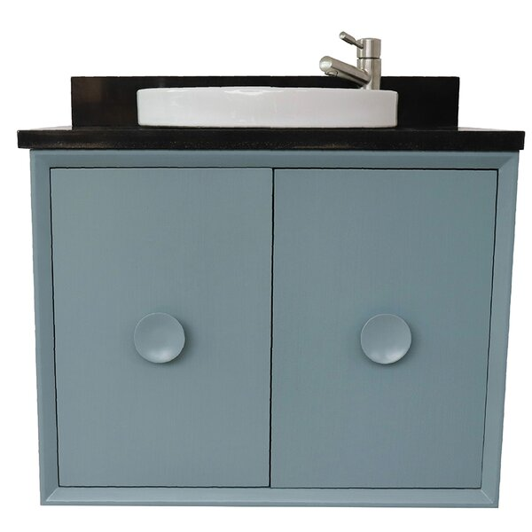 Wilhite 31 Wall Mounted Single Bathroom Vanity Set by Bloomsbury Market