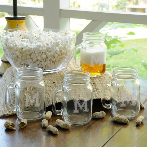 Personalized Gift Collegiate Jar (Set of 4) by JDS Personalized Gifts