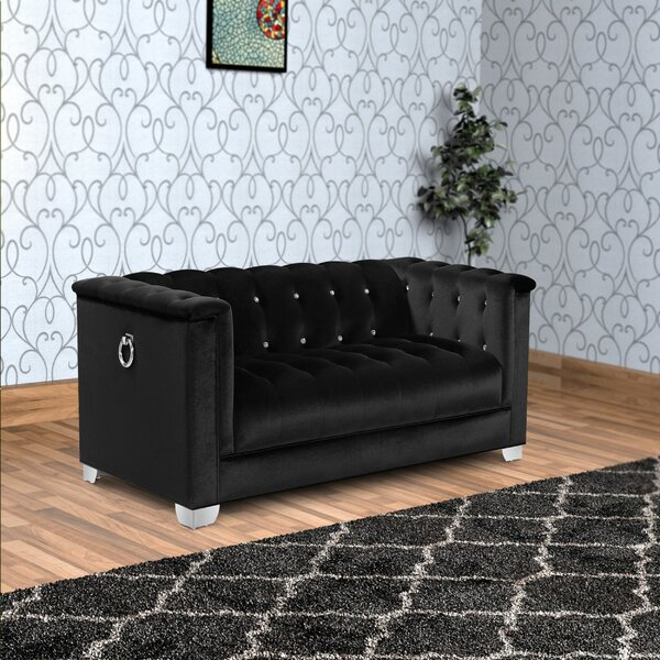 Dashing Style Wortman Loveseat by Mercer41 by Mercer41