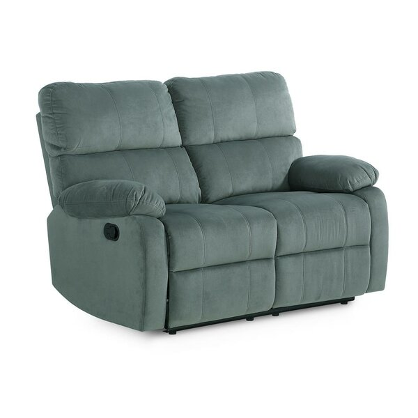 Perfect Quality Laci Reclining Loveseat by Winston Porter by Winston Porter