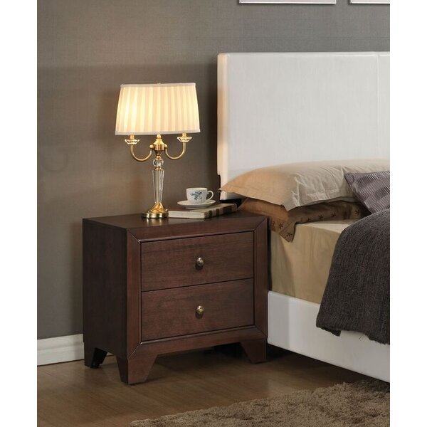 Mccree 2 Drawer Nightstand by Ebern Designs