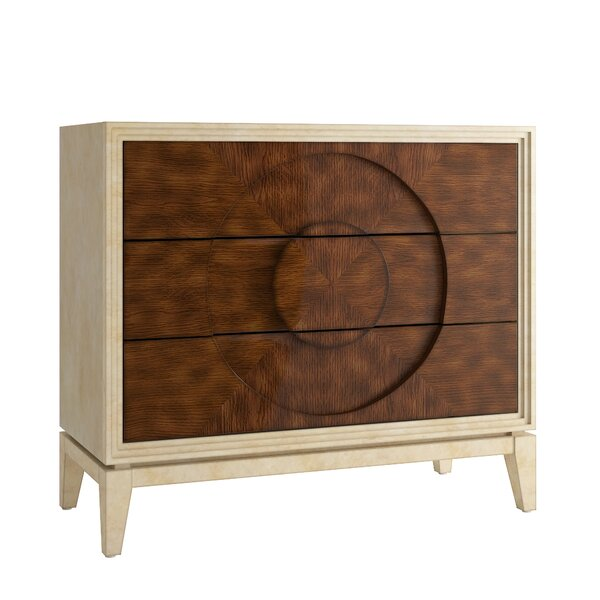 Hanish 3 Drawer Dresser by Willa Arlo Interiors