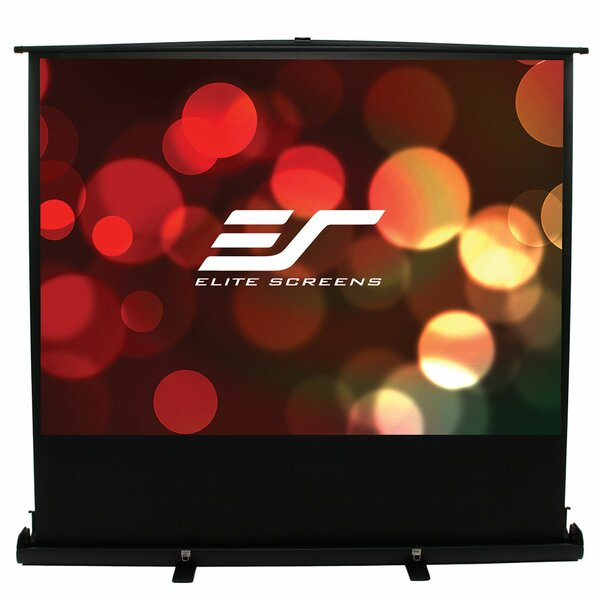 ezCinema Plus Series White Portable Projection Screen by Elite Screens