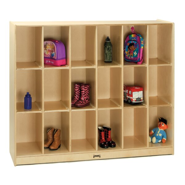 18 Compartment Cubby by Jonti-Craft