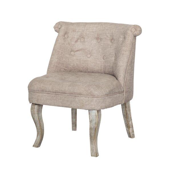 Kaat Slipper Chair by One Allium Way