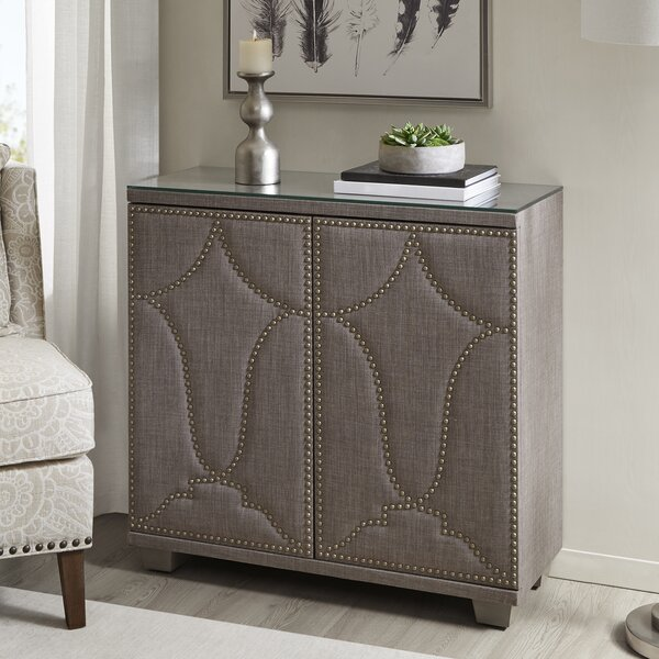 Peasely 2 Door Accent Cabinet by House of Hampton