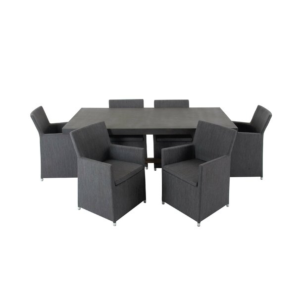 Adkinson 7 Piece Dining Set by Brayden Studio