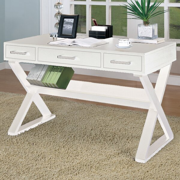 Bicknell 3 Drawer Writing Desk by Wildon Home ®