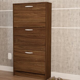 Read Reviews 18 Pair Shoe Storage Cabinet By Boahaus LLC