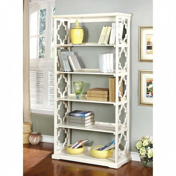 Longworth Substantial Contemporary Standard Bookcase by Rosdorf Park