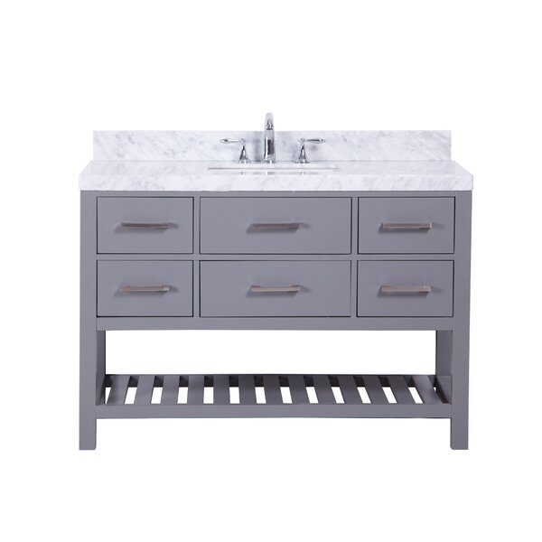 Craftsbury Freestanding 48 Single Bathroom Vanity Set by Rosecliff Heights