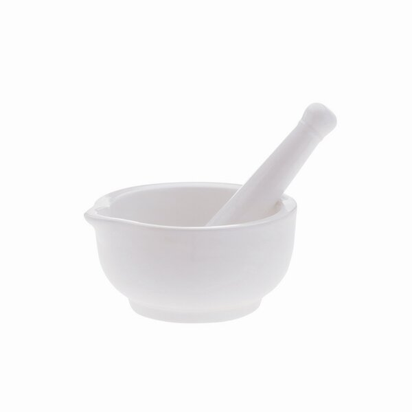 White Basics 5 Mortar and Pestle by Maxwell & Williams