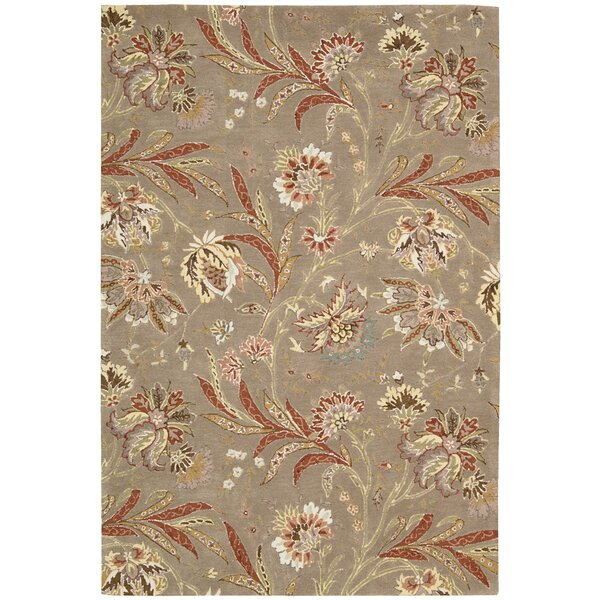 Elderton Hand-Tufted Mocha Area Rug by Darby Home Co