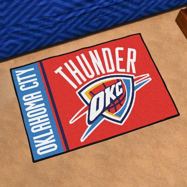 NBA Oklahoma City Thunder Starter Mat by FANMATS