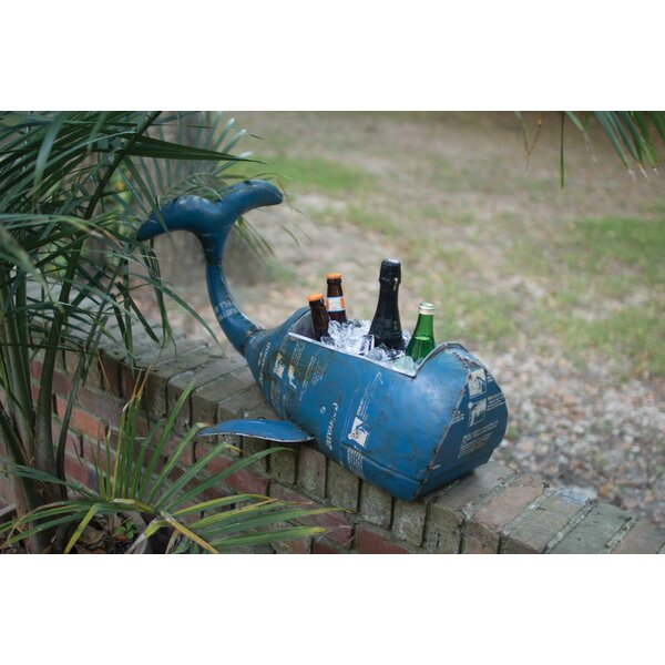 Sigrid Recycled Whale Beverage Tub by Longshore Tides