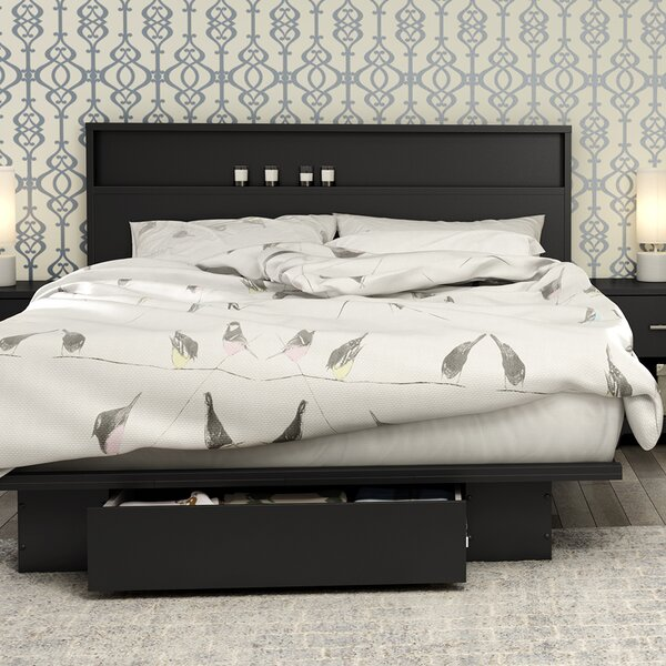 Primo Storage Platform Bed by South Shore