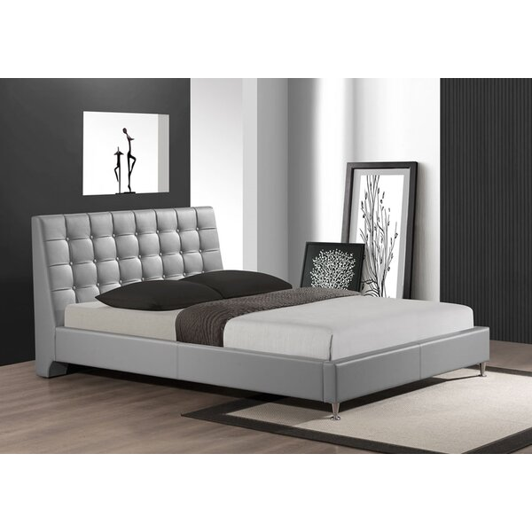 Belle Upholstered Platform Bed by Wildon Home®