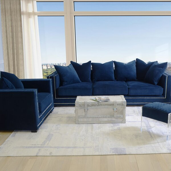 Cooper Configurable Living Room Set by Pasargad