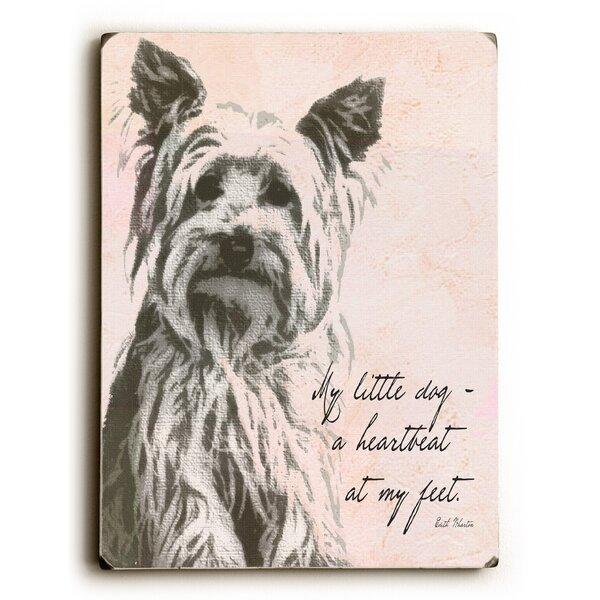 My Little Dog Graphic Art by Artehouse LLC