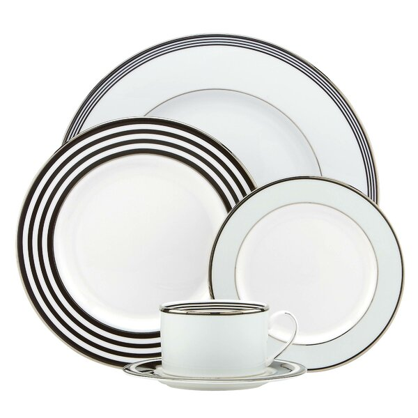 Parker Place Bone China 5 Piece Place Setting, Service for 1 by kate spade new york