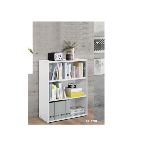 Dateland Wooden Standard Bookcase By Latitude Run