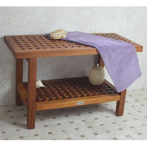 grate teak shower bench - Teak Shower Bench
