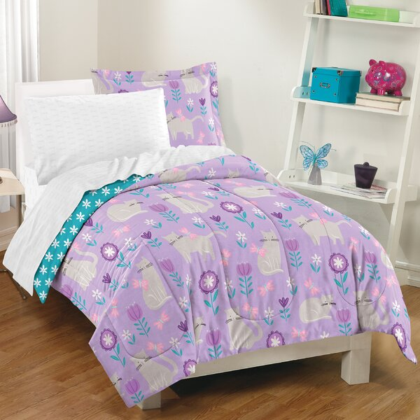 Lupe 5 Piece Reversible Comforter Set by Zoomie Kids