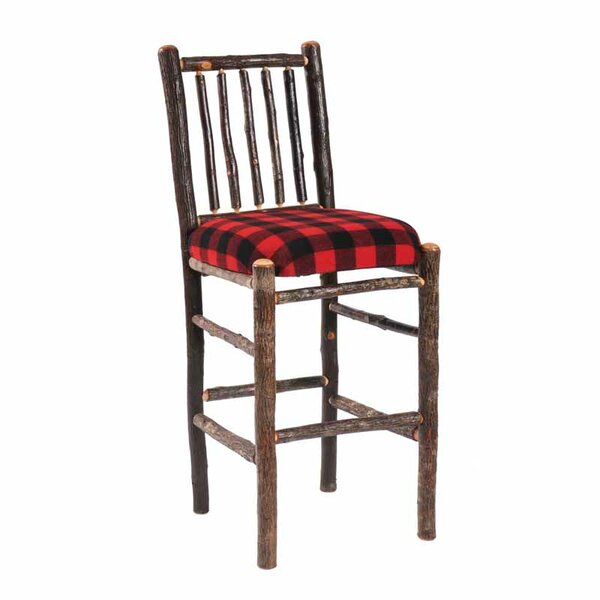 Hickory 30 Bar Stool by Fireside Lodge