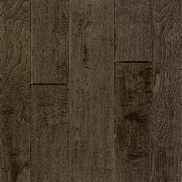 Artesian Random Width Engineered Birch Hardwood Flooring in Steel Brown by Armstrong Flooring