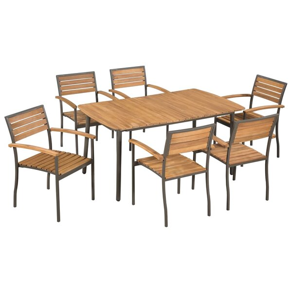 Koehler 7 Piece Dining Set by Union Rustic