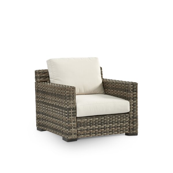 Jakarta Patio Chair with Sunbrella Cushion by South Sea Rattan