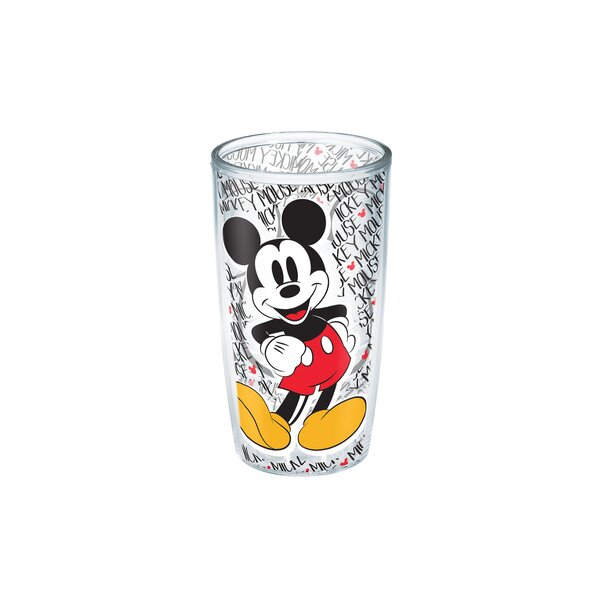 Disney Mickey Mouse 16 oz. Plastic Every Day Glass by Tervis Tumbler