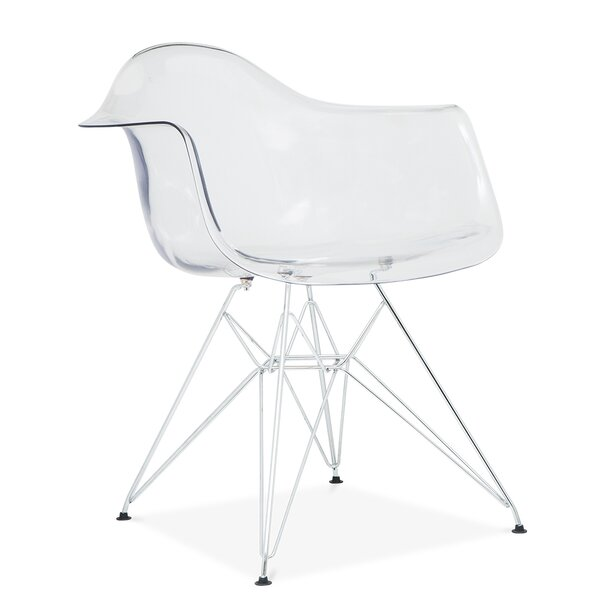 Quast Modern Acrylic Dining Chair by Orren Ellis