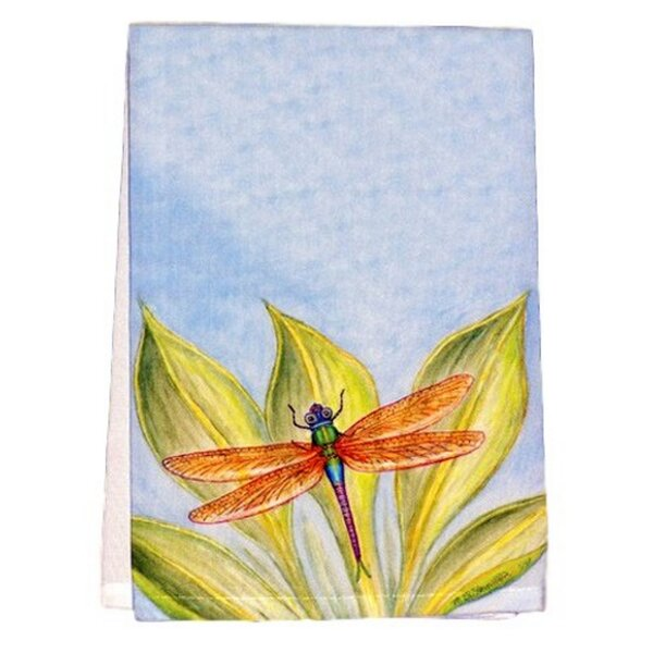 Ronald Dragonfly Hand Towel by August Grove