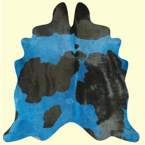 Dairy Handmade Blue/Black Area Rug by T. Style