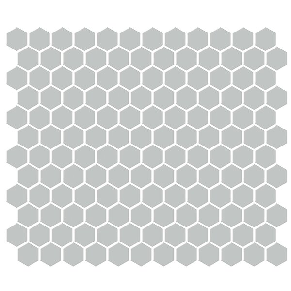 Shape 1 x 1 Porcelain Mosaic Tile in Gray by Emser Tile