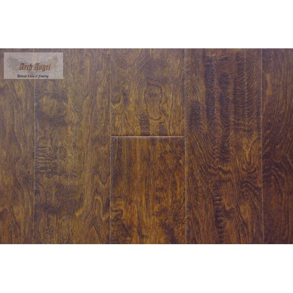 0.5 x 0.75 x 94 Birch Quarter Round in Templeton Truffle by All American Hardwood