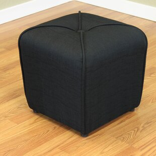 Inexpensive Mapletown Cube Ottoman By Three Posts
