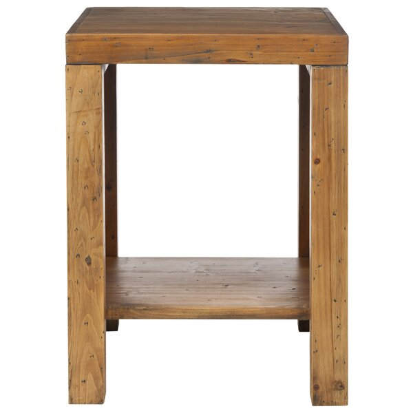 Solon End Table by Millwood Pines