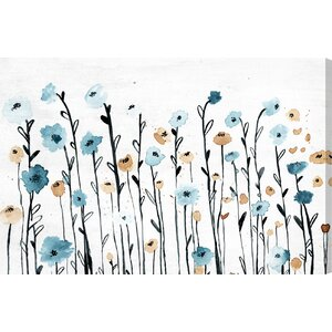 'Beautiful Growth' Painting Print on Wrapped Canvas by Red Barrel Studio