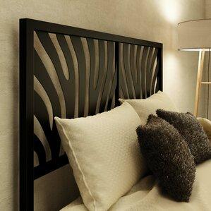Zebra Open-Frame Headboard..