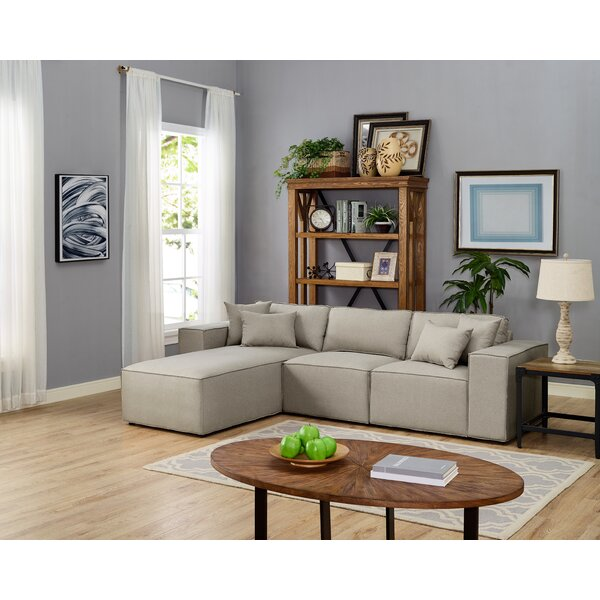 #1 Neary Reversible Modular Sectional By Gracie Oaks 2019 Coupon
